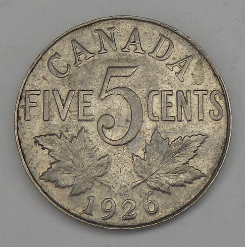 Canada - 5 Cents - 1926