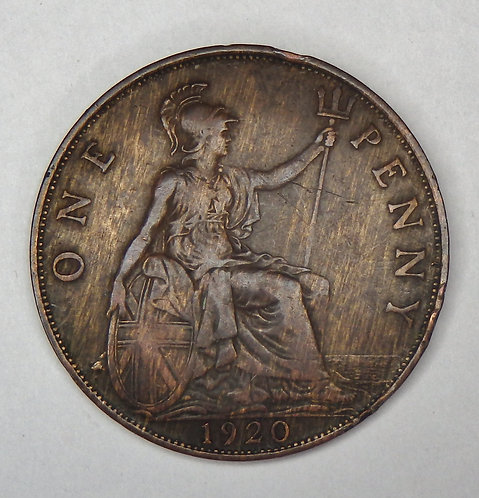 Great Britain - Penny - 1920