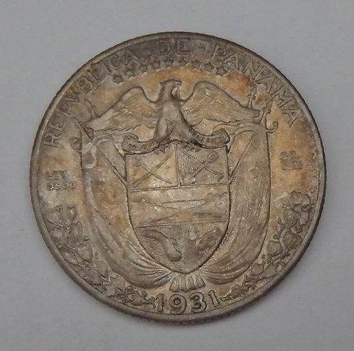 Panama - 1/4 Balboa - 1931