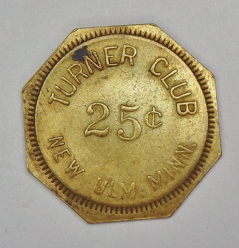 Minnesota, New Ulm - Turner Club Token