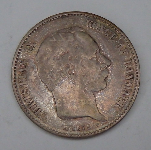 Denmark - 2 Kroner - 1875