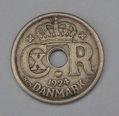 Denmark - 25 Ore - 1924