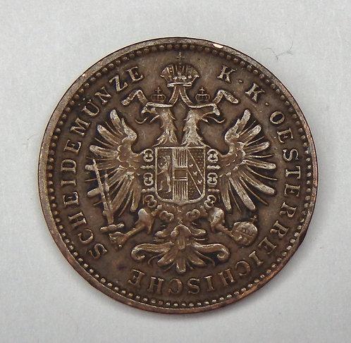 Austria - Kreuzer - 1885