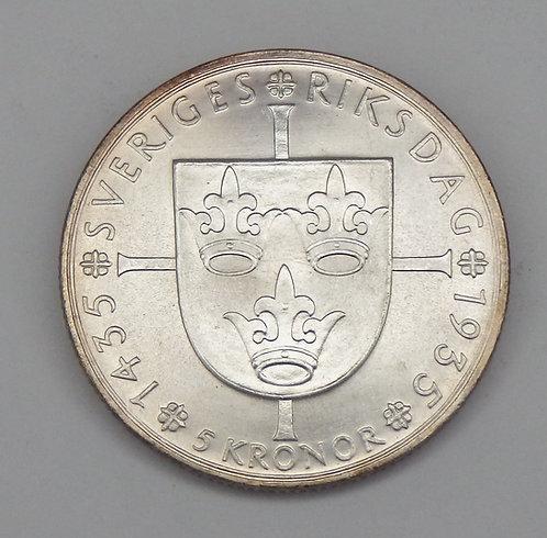 Sweden - 5 Kroner - 1935-G