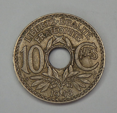France - 10 Centimes - 1918