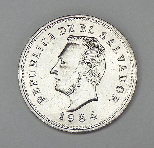 El Salvadore - 5 Centavos - 1984