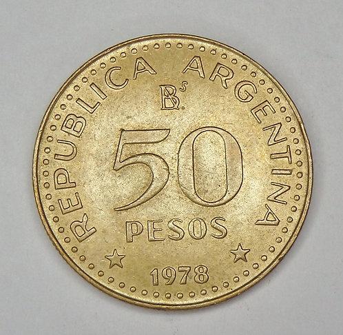 Argentina - 50 Pesos - 1978