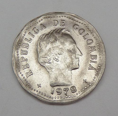 Columbia - 50 Centavos - 1978