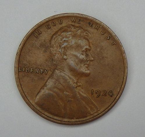 1924 Wheat Cent