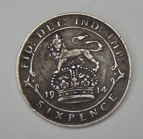 Great Britain - 6 Pence - 1914