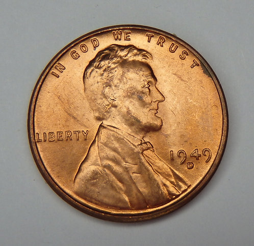 1949-D Wheat Cent