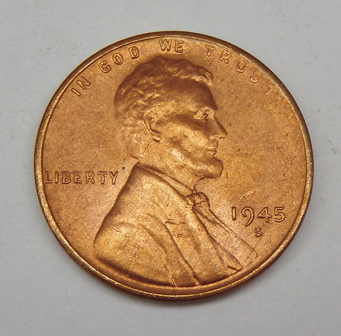 1945-S Lincoln Cent