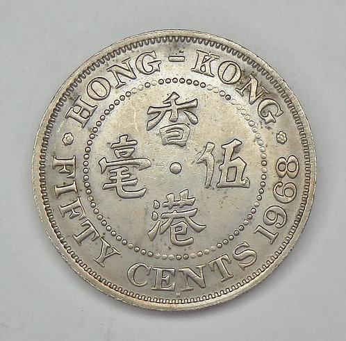 Hong Kong - 50 Cents - 1968