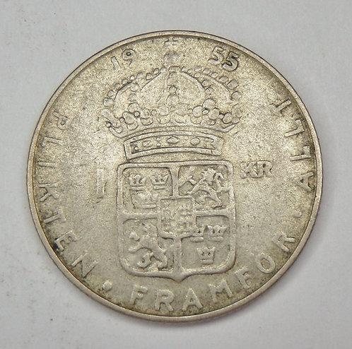 Sweden - Krona - 1955-TS