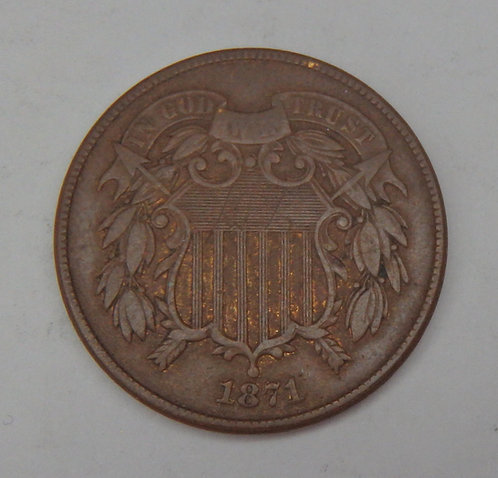 1871 Two Cent