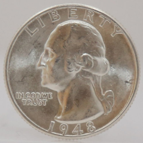 1948-D Washington Quarter