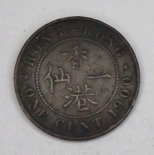 Hong Kong - Cent - 1900
