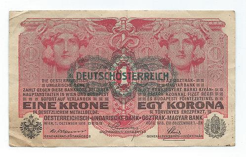 Hungary - Korona - 1916