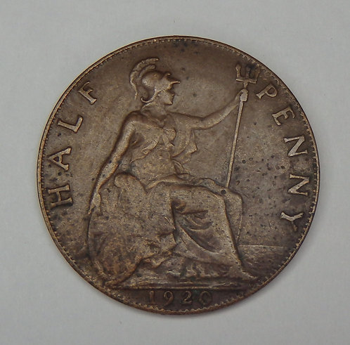 Great Britain - 1/2 Penny - 1920