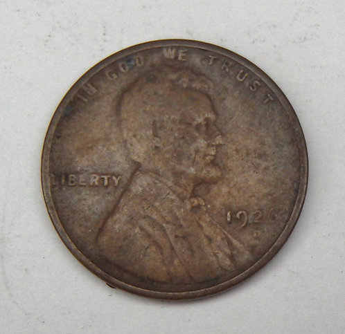 1926-D Lincoln Cent