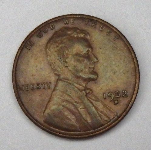 1932-D Wheat Cent
