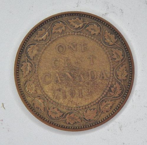 Canada - Cent - 1913