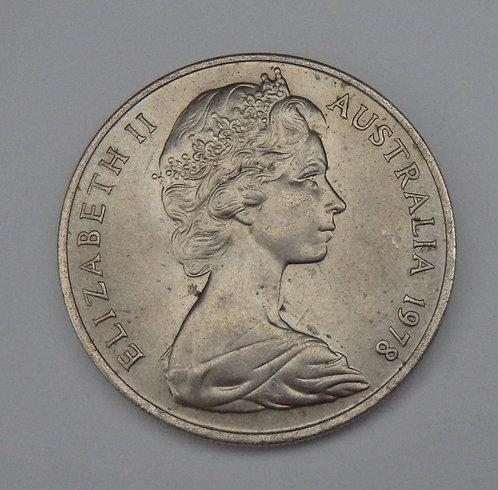 Australia - 20 Cents - 1978