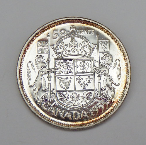 Canada - 50 Cents - 1955
