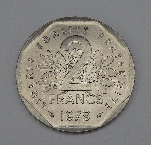 France - 2 Francs - 1979