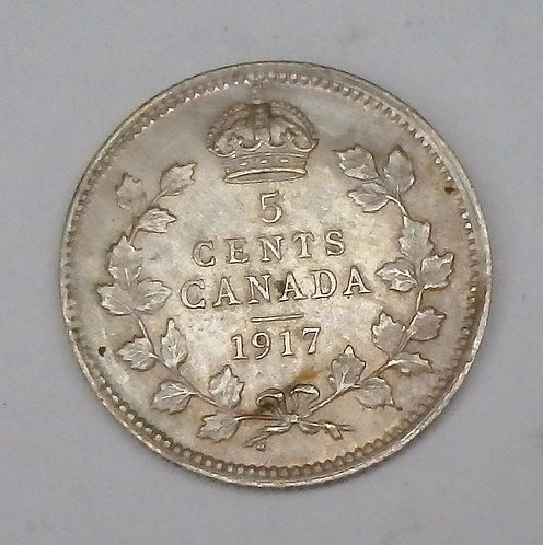 Canada - 5 Cents - 1917