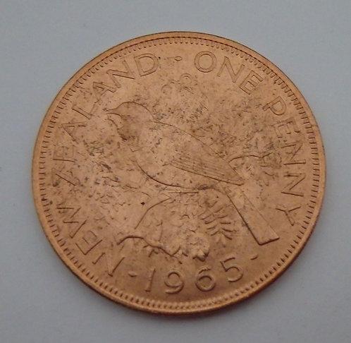New Zealand - Penny - 1965