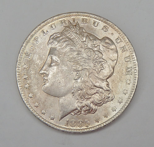 1885-O Morgan Dollar
