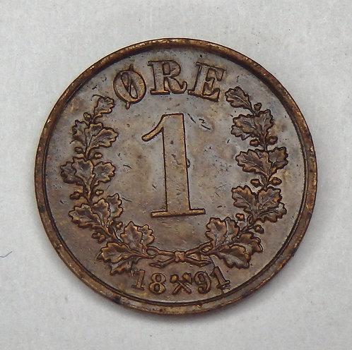 Norway - Ore - 1891
