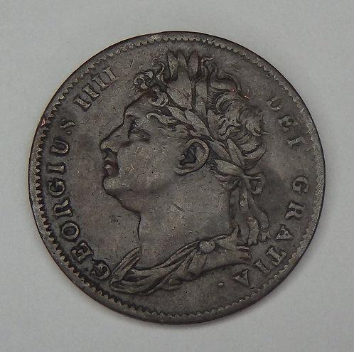 Great Britain - Farthing - 1822