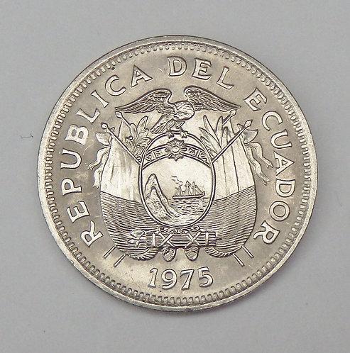 Ecuador - 20 Centavos - 1975