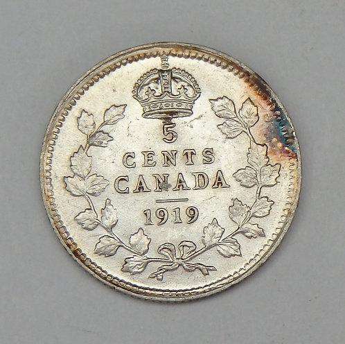Canada - Nickel - 1919