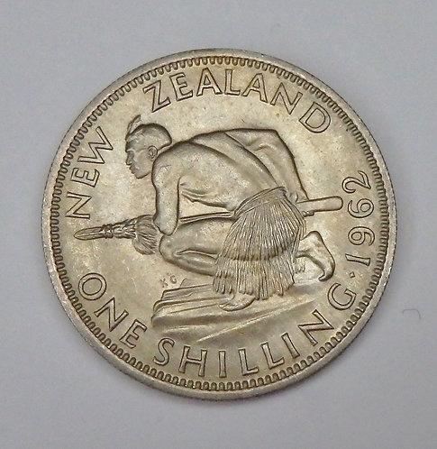 New Zealand - Shilling - 1962