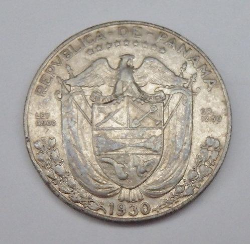Panama - Half Balboa - 1930