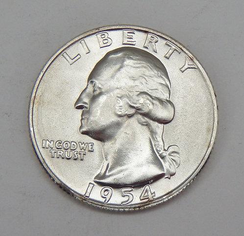 1954-D Washington Quarter
