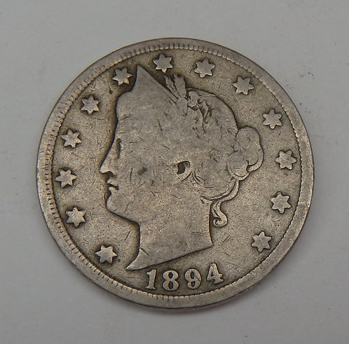 1894 Liberty V Nickel