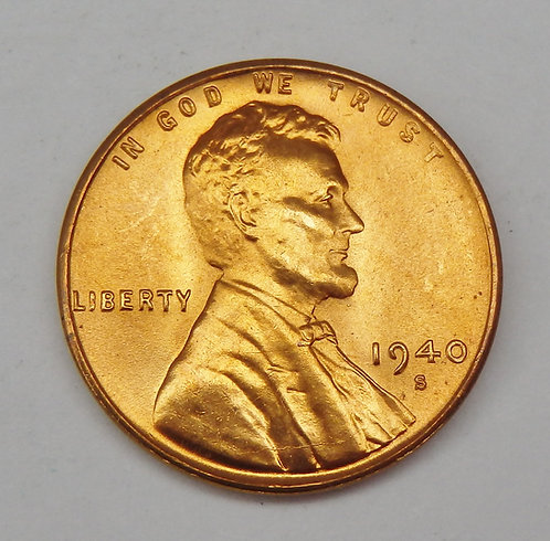 1940-S Lincoln Cent