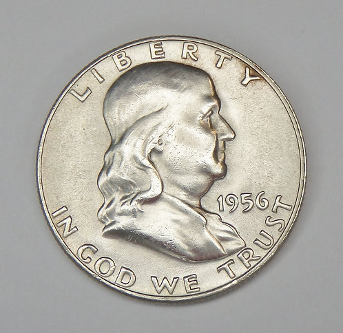 1956 Franklin Half Dollar