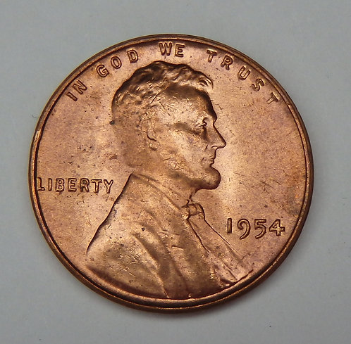 1954 Lincoln Cent