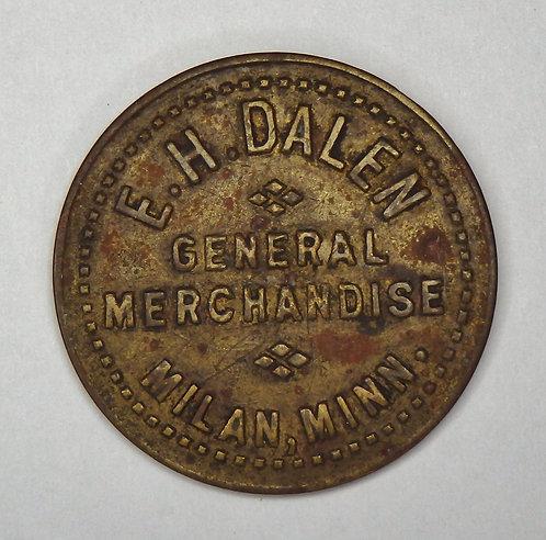 Minnesota, Milan - E.H. Dalen Token