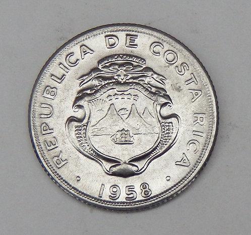Costa Rica - 10 Centimes - 1958