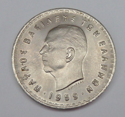 Greece - 10 Drachmai - 1959