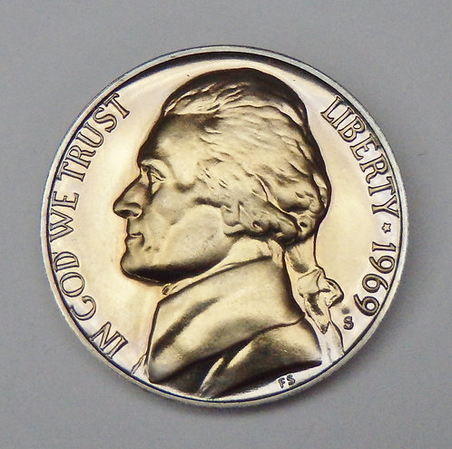 1969-S Jefferson Nickel