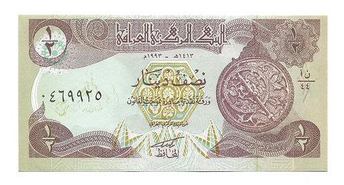 Iraq - 1/2 Dinar - 1980