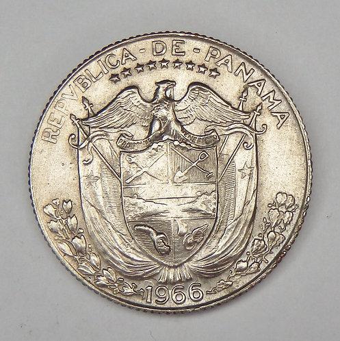 Panama - 1/4 Balboa - 1966