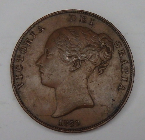 Great Britain - Penny - 1859